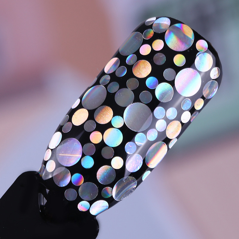 Holographic Bubbles Nail Sequins