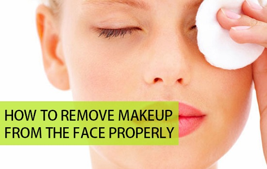 How to Remove Makeup from the face properly
