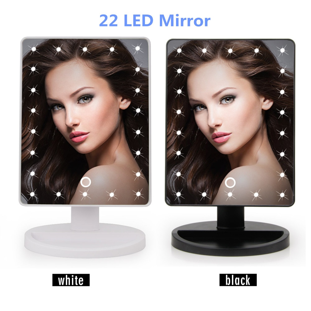 Makeup Mirror With LED Lights 2