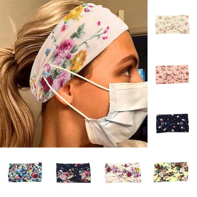 Fashion Button Headband